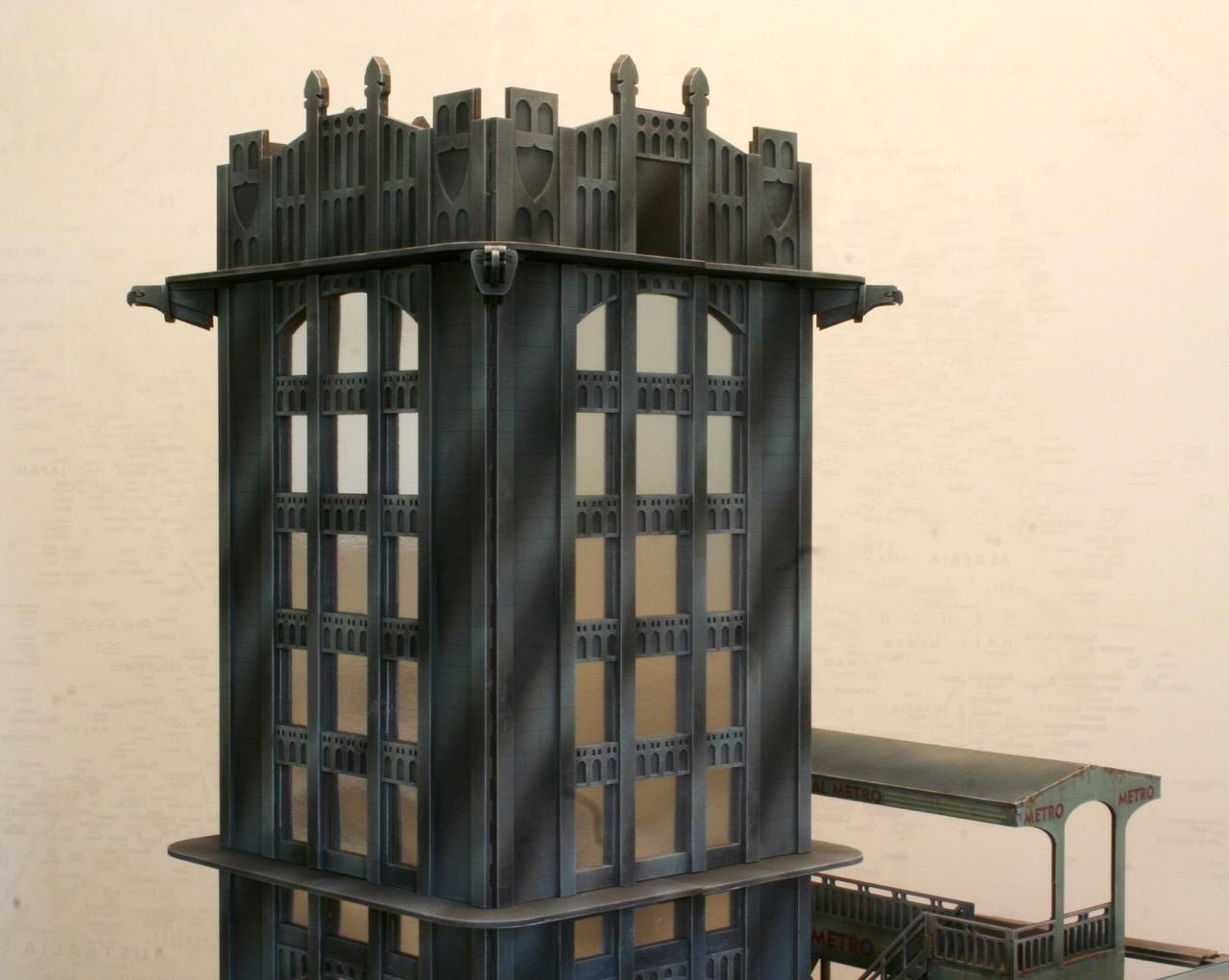 L'atelier de Lien : début de tables Gotham.. 161016035522313947