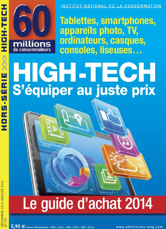 60 Millions De Consommateurs Hors Série N°170 - High-tech