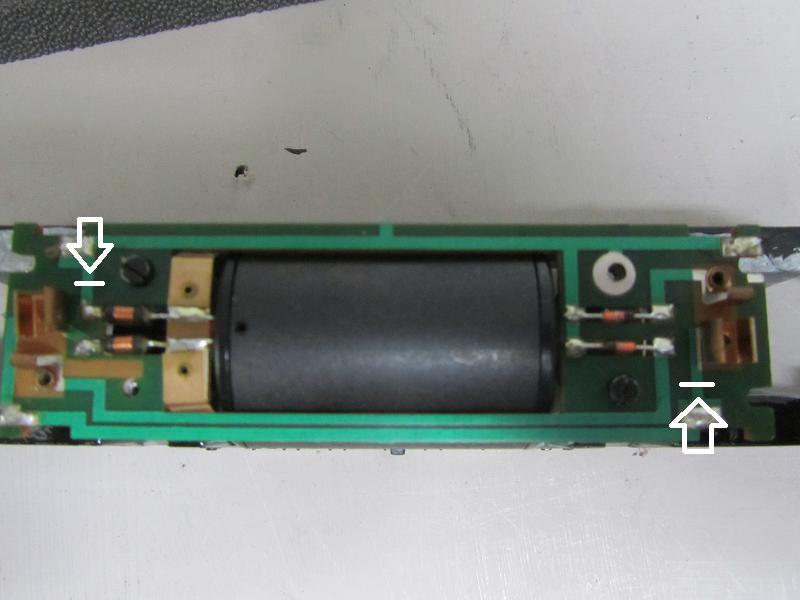 Placement de LED et digitalisation d'une série 62 Roco 161017075303136116