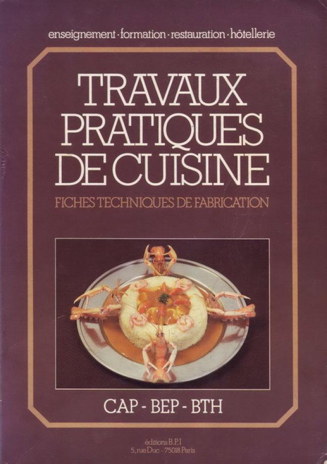 Travaux Pratiques De Cuisine