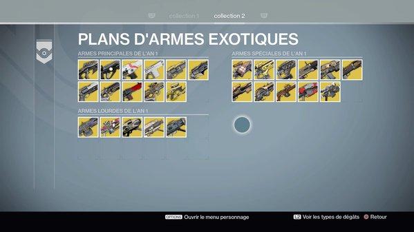 Armes Exotiques An 1