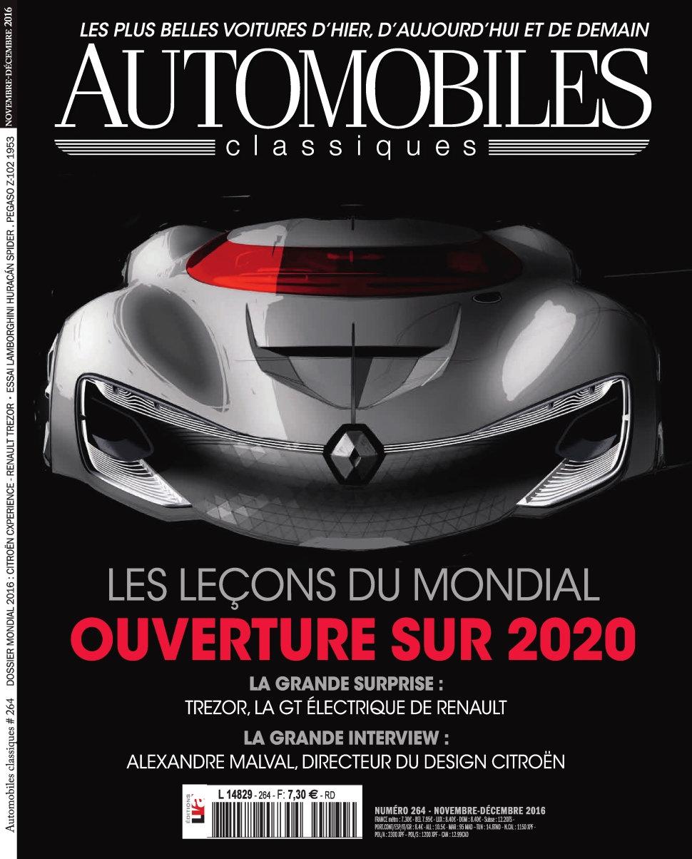 Automobiles Classiques 264 - Novembre/Décembre 2016