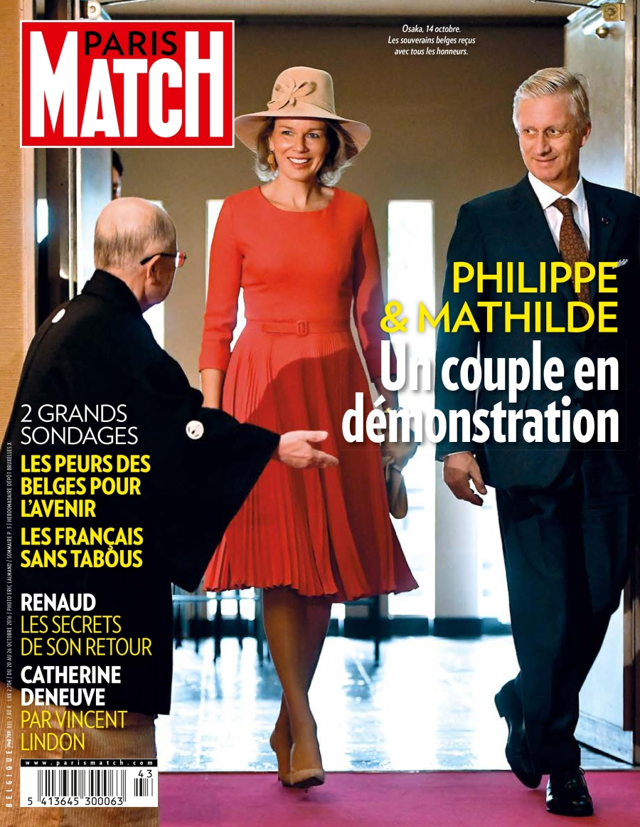 Paris Match Belgique N°789 - 20 au 26 Octobre 2016