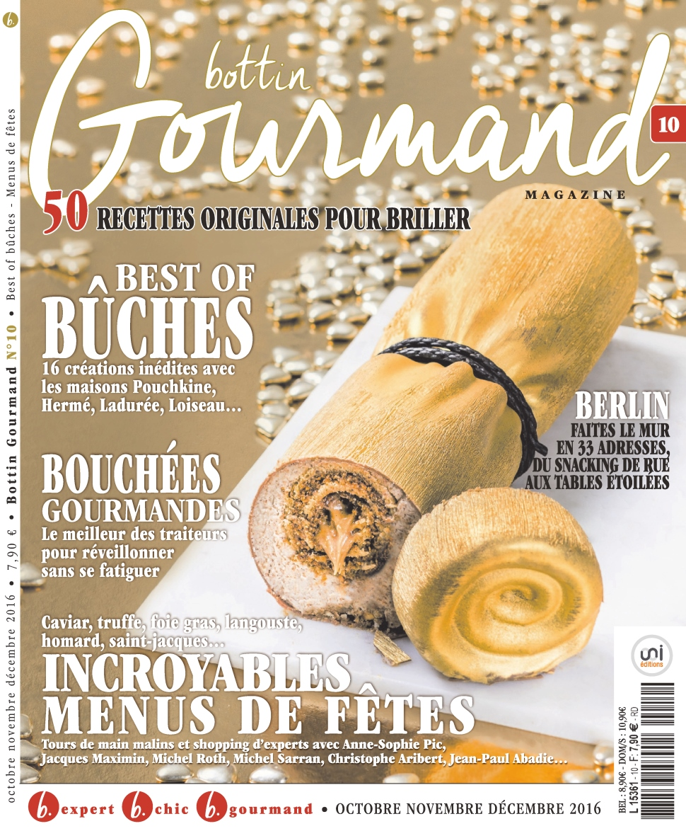 Bottin Gourmand Magazine 10 - Octobre/Décembre 2016
