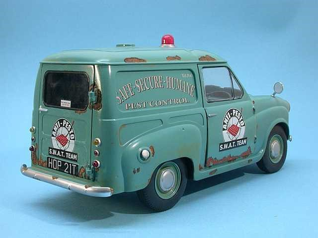 Wallace et Gromit avec Anti-Pesto Van (2)
