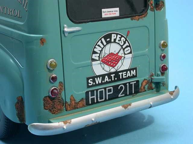 Wallace et Gromit avec Anti-Pesto Van (7)