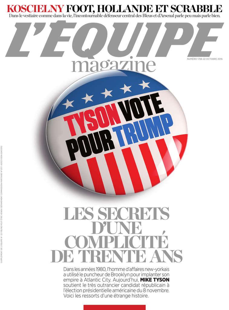 L'Equipe Magazine N°1788 - 22 Octobre 2016