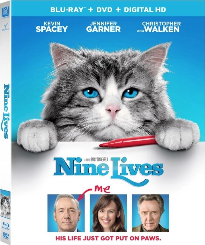 Nine Lives (2016) poster image
