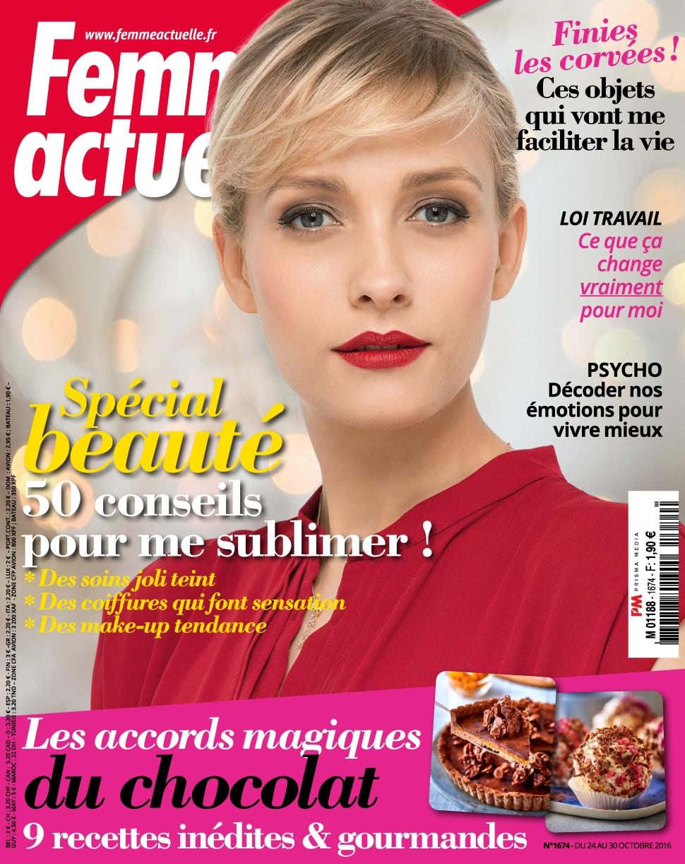 Femme Actuelle 1674 - 24 au 30 Octobre 2016