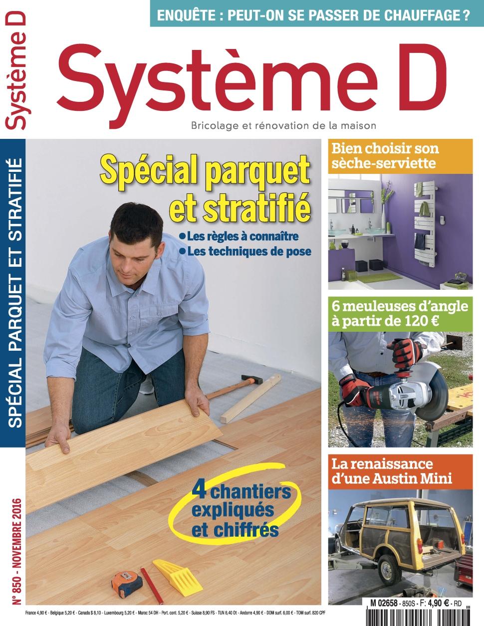 Systeme D 850 - Novembre 2016