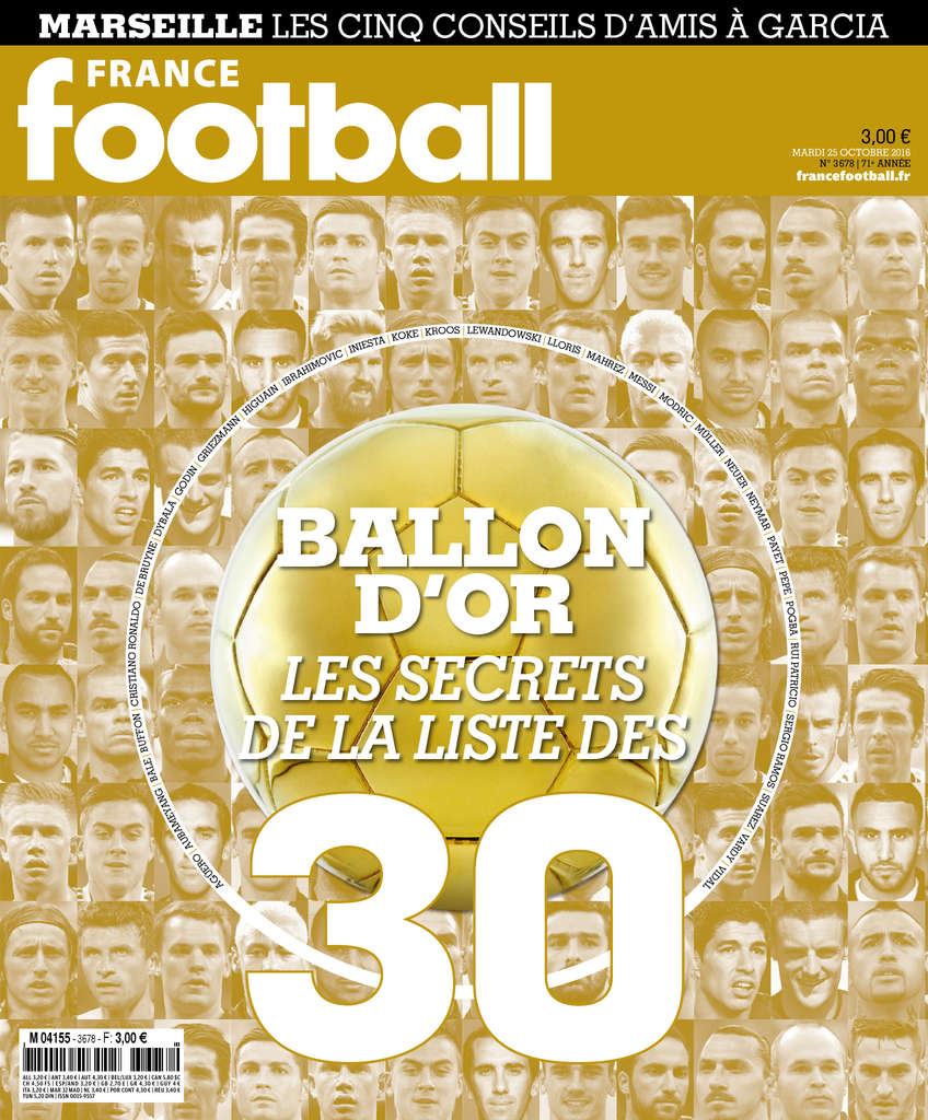 France Football N°3678 - 25 Octobre 2016
