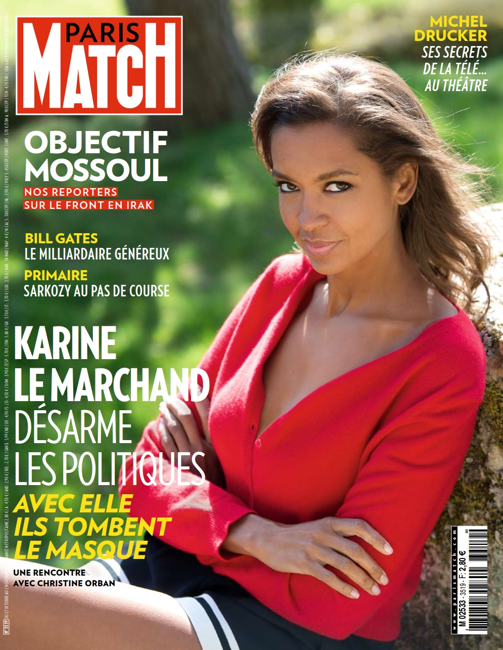 Paris Match N°3519 - 27 Octobre au 02 Novembre 2016