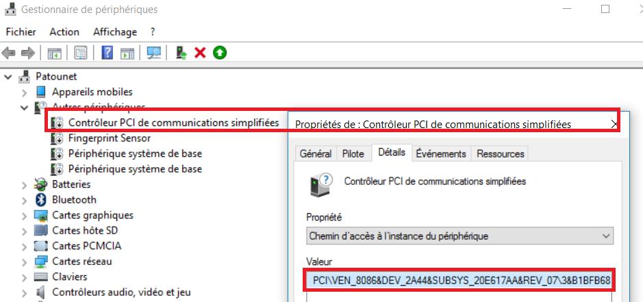 BIT TÉLÉCHARGER COMMUNICATIONS WINDOWS SIMPLIFIÉES DE CONTROLEUR 64 PCI 7