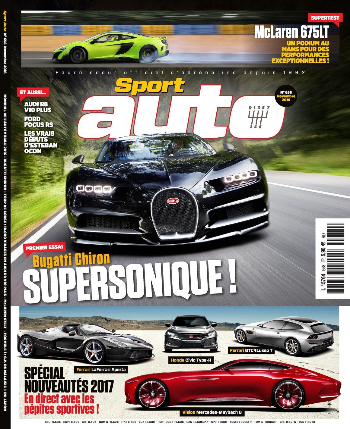 Sport Auto N°658 - Novembre 2016