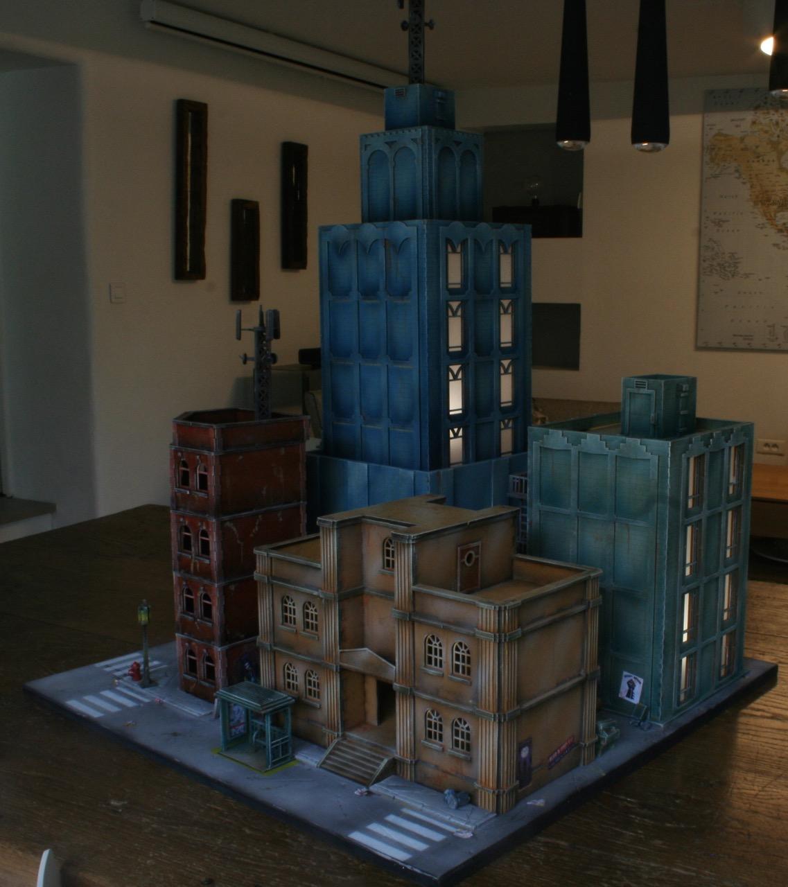 L'atelier de Lien : début de tables Gotham.. 161028105028173636