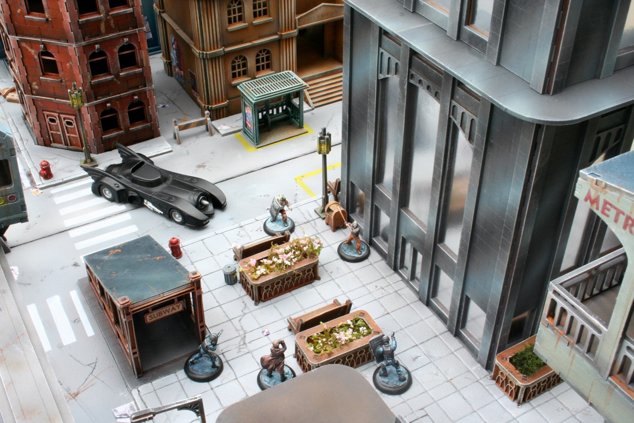 L'atelier de Lien : début de tables Gotham.. 161028105849785561