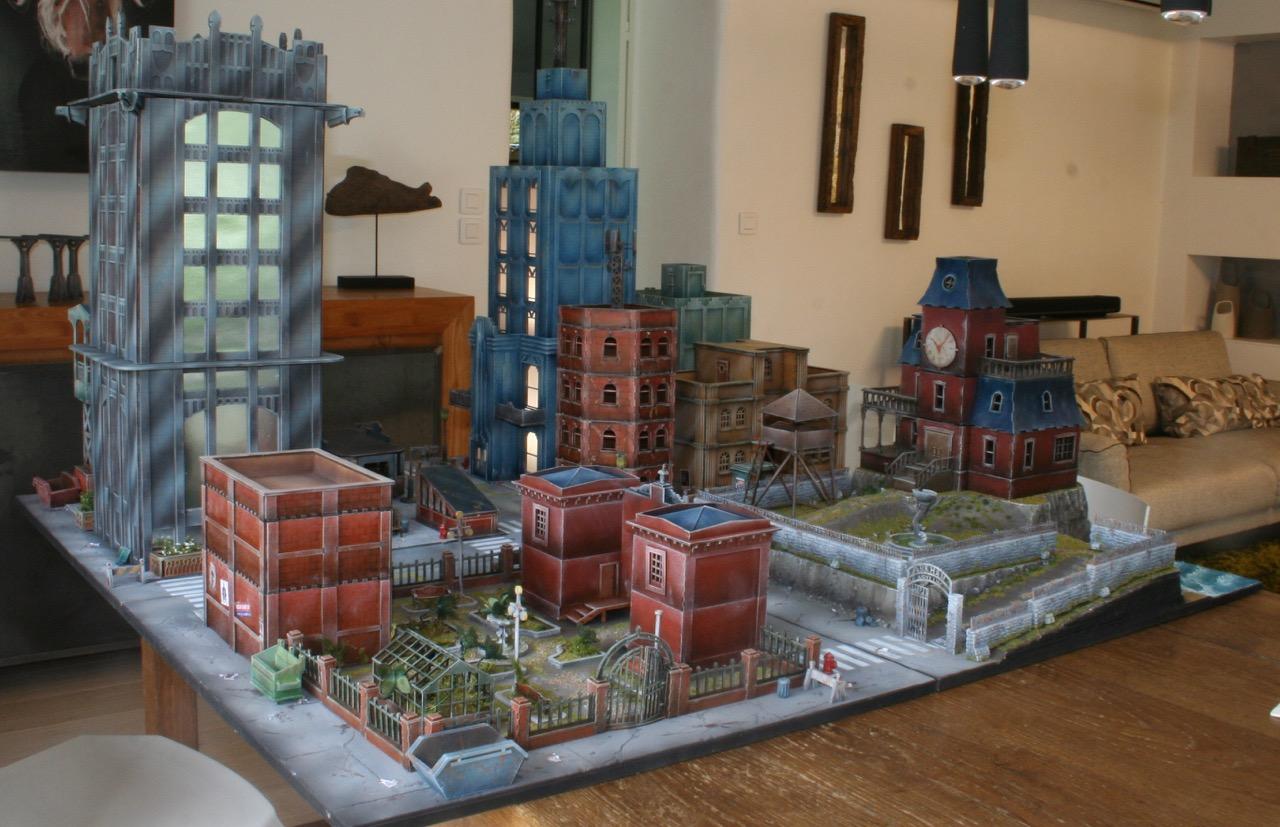 L'atelier de Lien : début de tables Gotham.. 161028105856162241