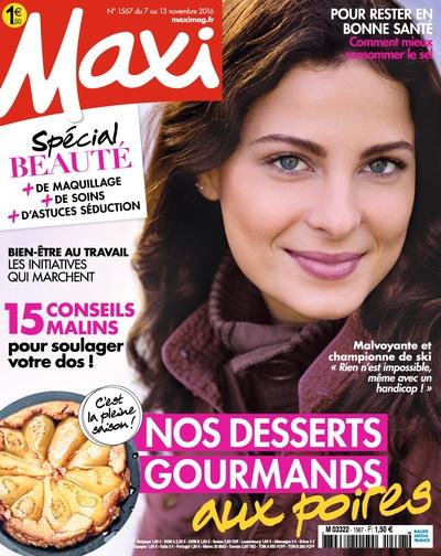 Maxi N°1567 - 07 au 13 Novembre 2016