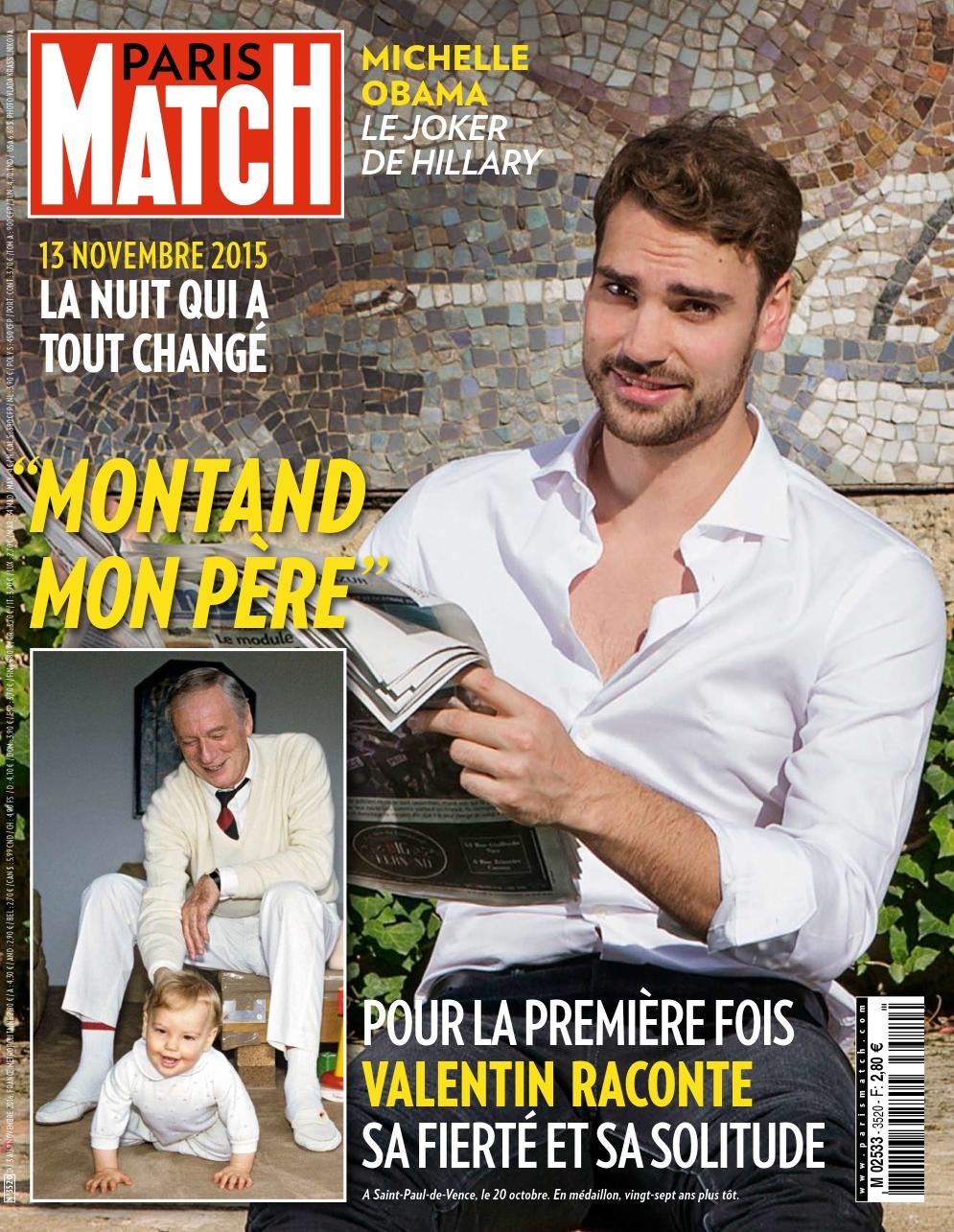 Paris Match 3520 - 03 au 09 Novembre 2016