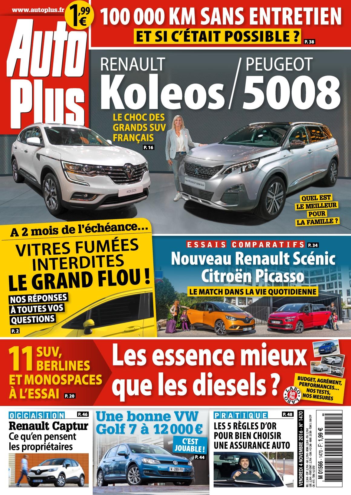 Auto Plus 1470 - 04 au 10 Novembre 2016