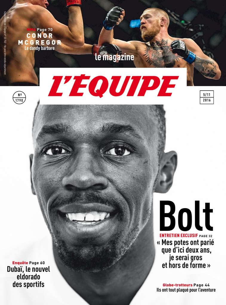 L'Equipe Magazine 1790 - 05 Novembre 2016