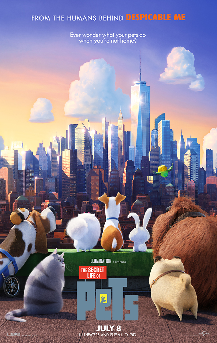 The Secret Life of Pets (2016) poster image