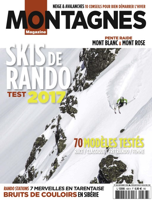 Montagnes Magazine 436 - Novembre 2016
