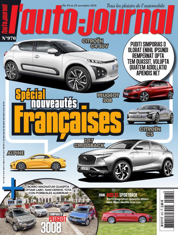 L'Auto-Journal 970 - 10 au 23 Novembre 2016