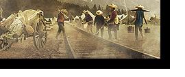 Le chantier ferroviaire