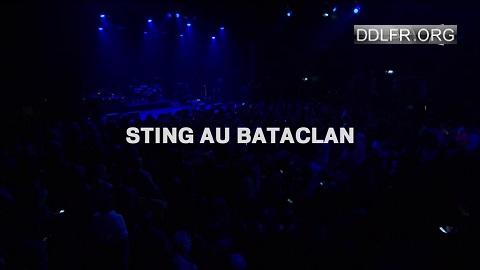 Sting au Bataclan