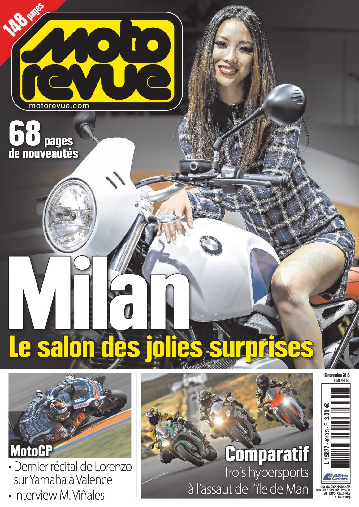 Moto Revue 4040 - 16 Novembre 2016