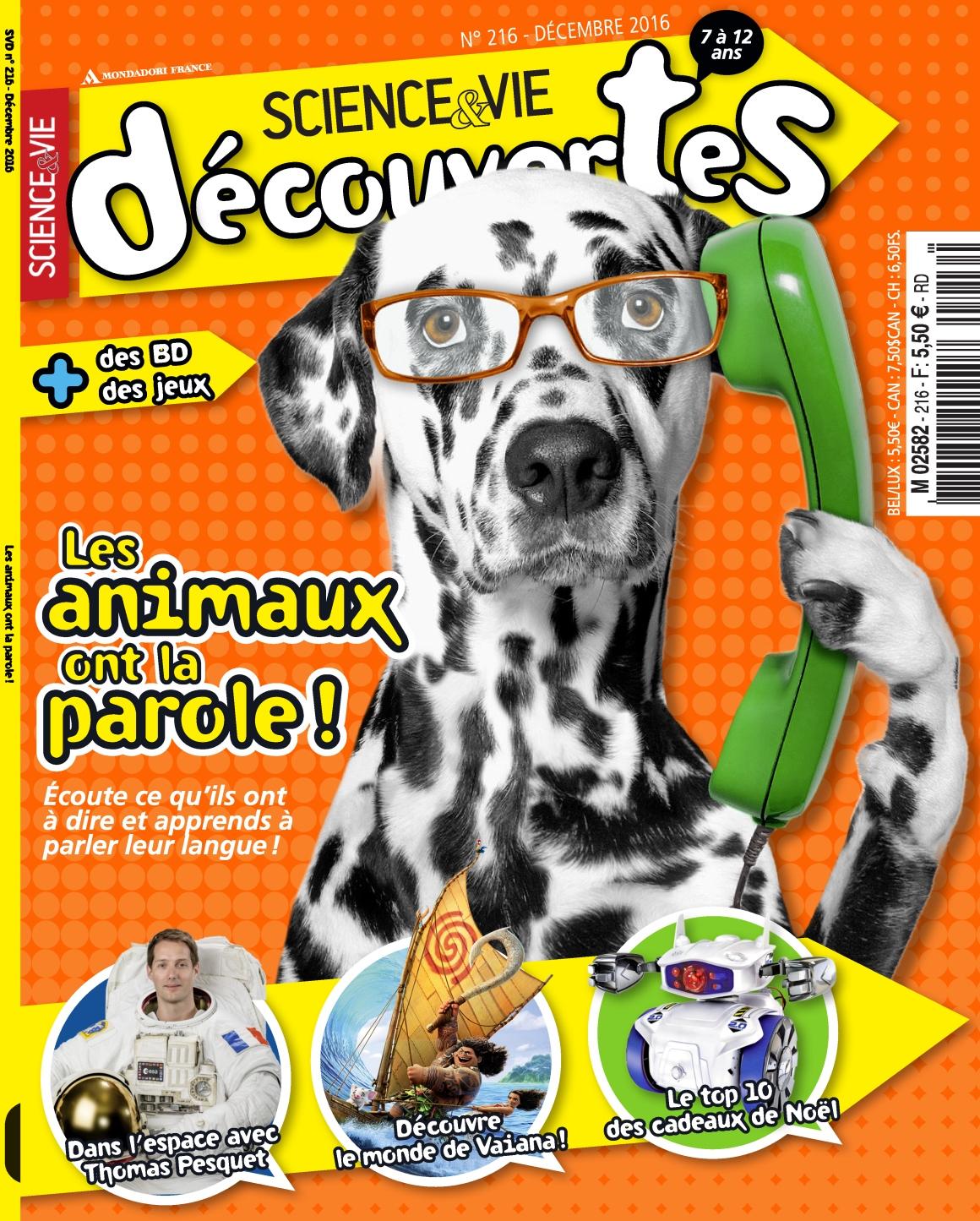 Science & Vie Découvertes 216 - Décembre 2016