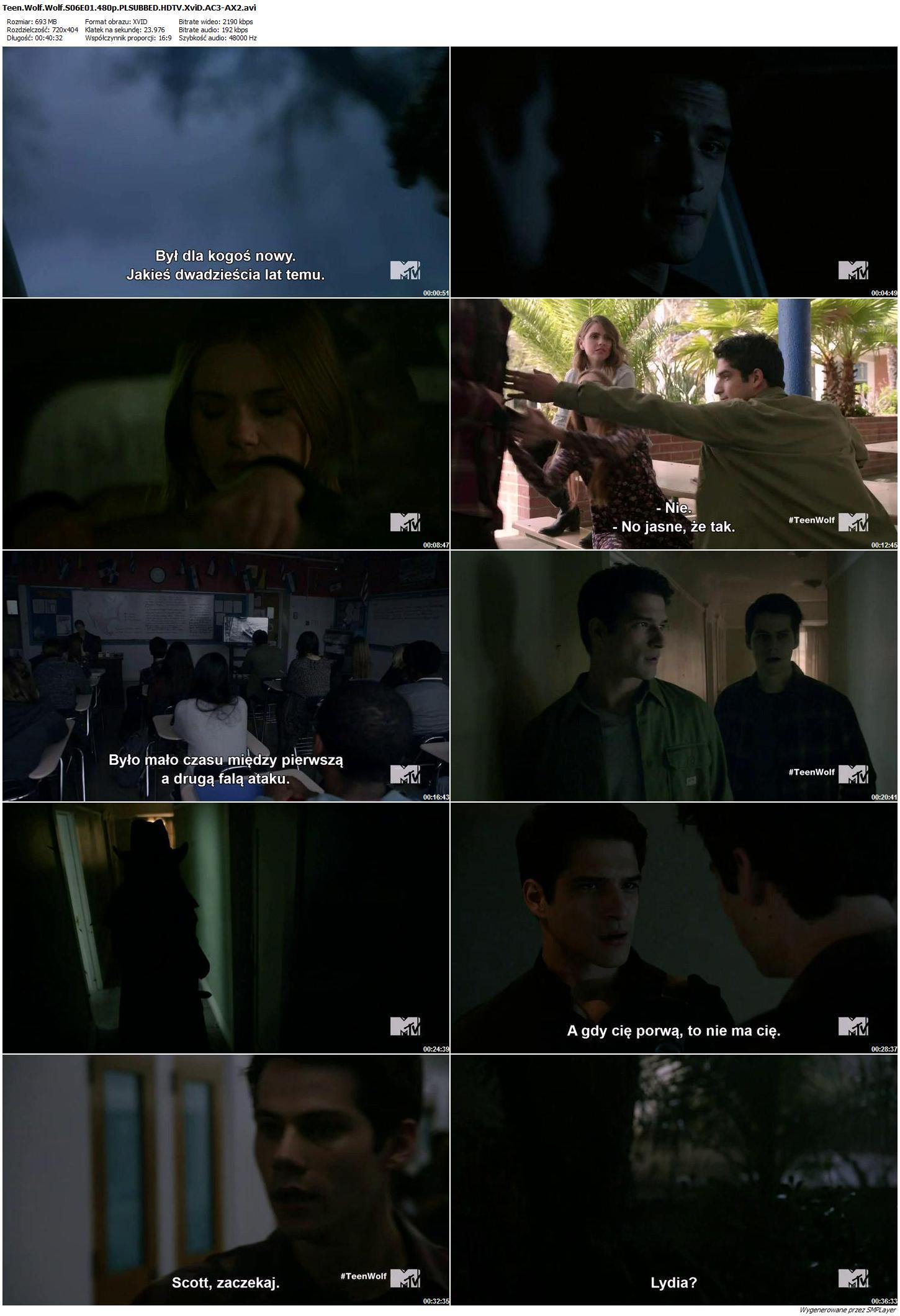 Teen Wolf: Nastoletni Wilkołak / Teen Wolf {Sezon 6} (2016)