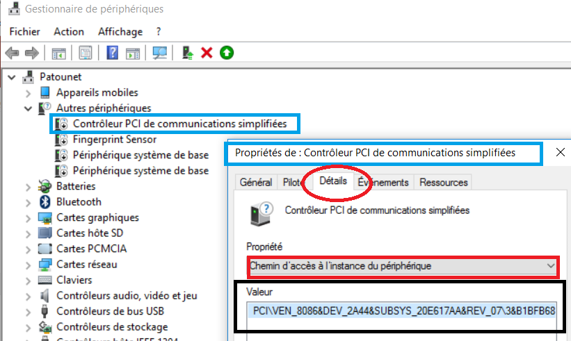 DE GRATUIT TÉLÉCHARGER CONTROLEUR PCI 7 COMMUNICATIONS WINDOWS SIMPLIFIÉES