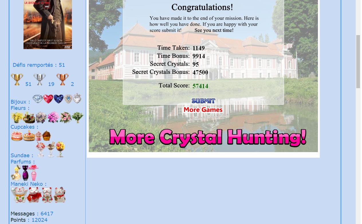 Crystal Hunter Maisons 161118103610675916
