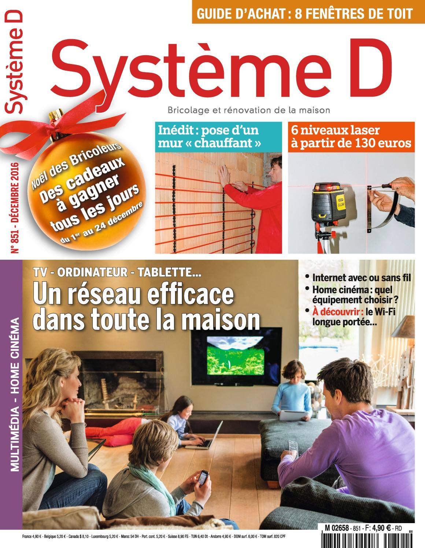 Système D N°851 - Décembre 2016