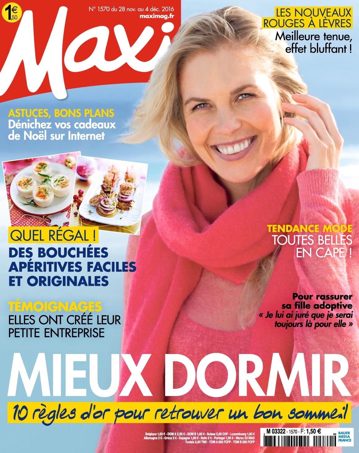 Maxi 1570 - 28 Novembre au 04 Décembre 2016