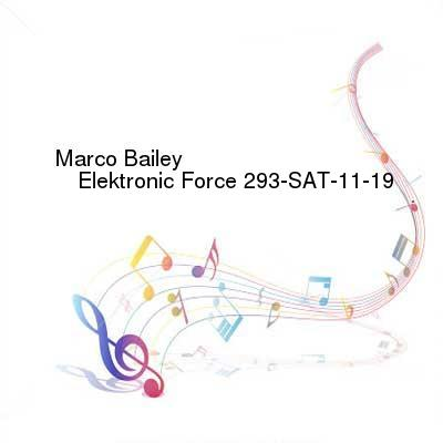 HDTV-X264 Download Links for Marco_Bailey_-_Elektronic_Force_293-SAT-11-19-2016-TALiON