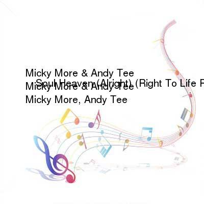 HDTV-X264 Download Links for Micky_More_and_Andy_Tee_-_Soul_Heaven__Alright___Right_To_Life_Remix-WEB-2016-iDC