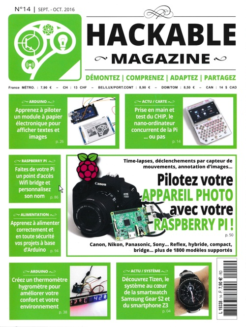 Hackable Magazine 14 - Septembre/Octobre 2016