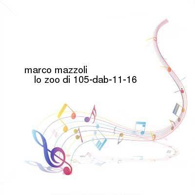 HDTV-X264 Download Links for Marco_Mazzoli-Lo_Zoo_Di_105-DAB-11-16-2016-G4E