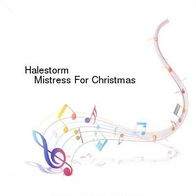 HDTV-X264 Download Links for Halestorm-Mistress_For_Christmas-WEB-2016-ENTiTLED