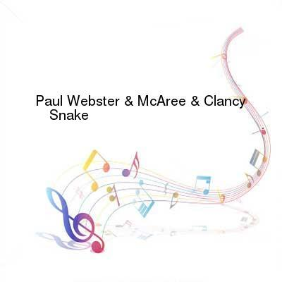 HDTV-X264 Download Links for Paul_Webster_And_McAree_And_Clancy-Snake-WEB-2016-TSP