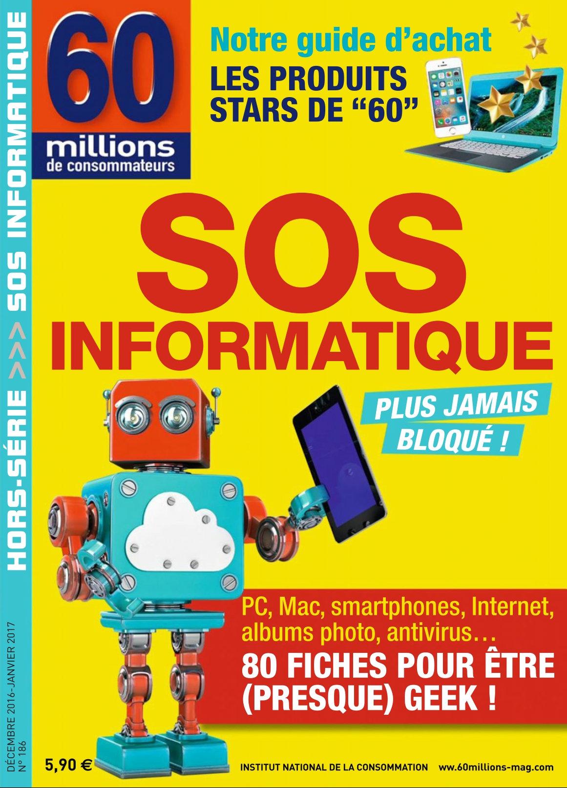 60 millions de consommateurs Hors-Série N°186 - Décembre 2016/Janvier 2017