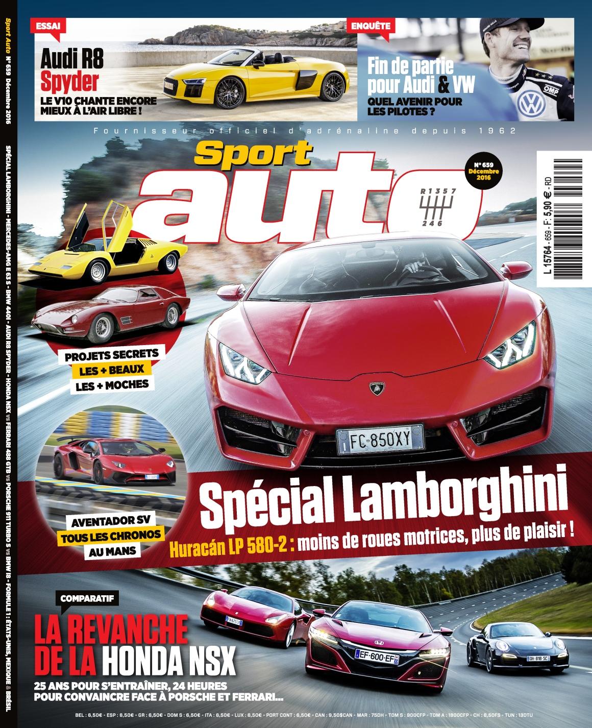 Sport Auto 659 - Décembre 2016