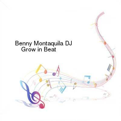 HDTV-X264 Download Links for Benny_Montaquila_DJ-Grow_In_Beat-WEB-2016-PITY