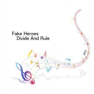 HDTV-X264 Download Links for Fake_Heroes-Divide_And_Rule-CD-FLAC-2013-CUSTODES