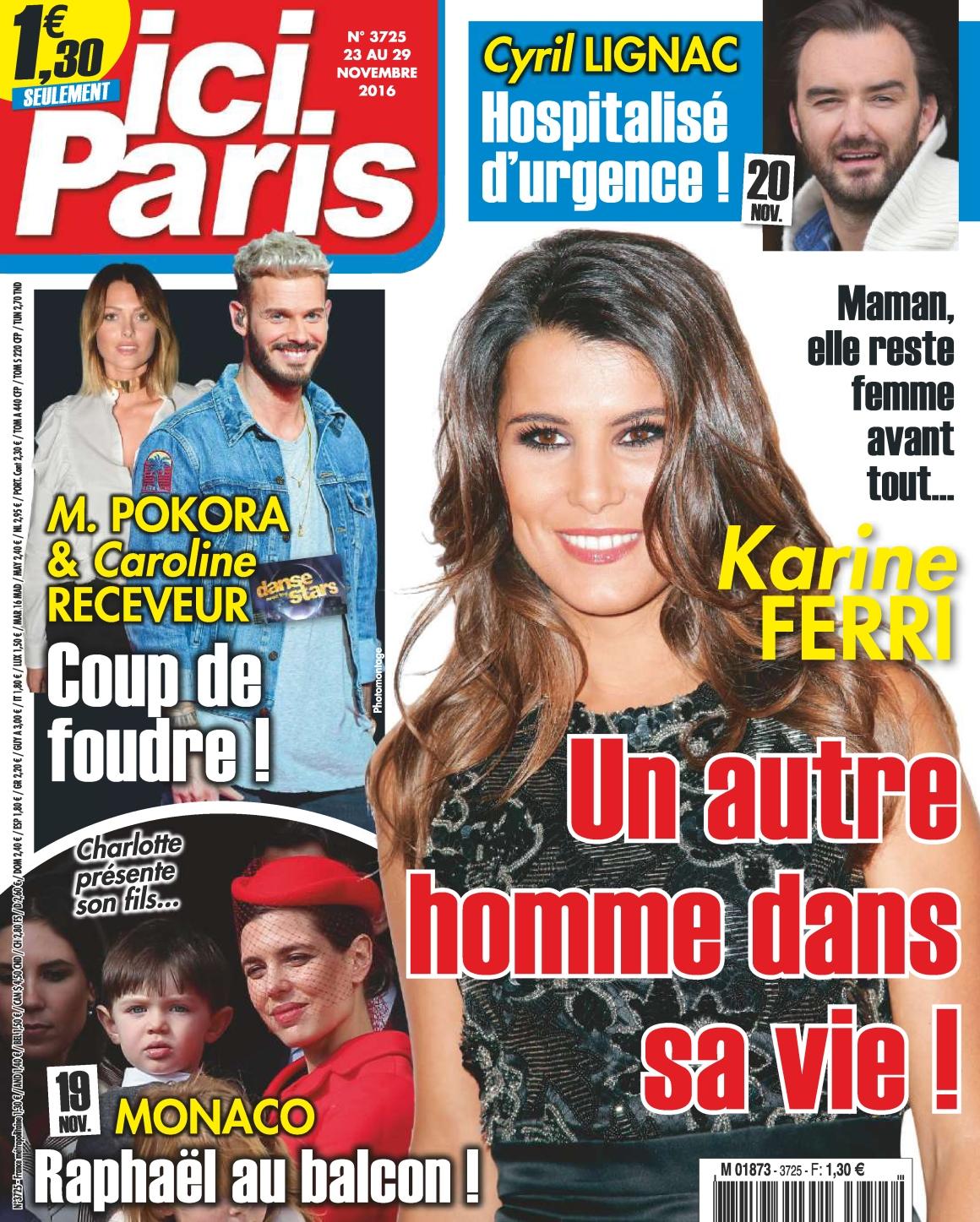 Ici Paris N°3725 - 23 au 29 Novembre 2016
