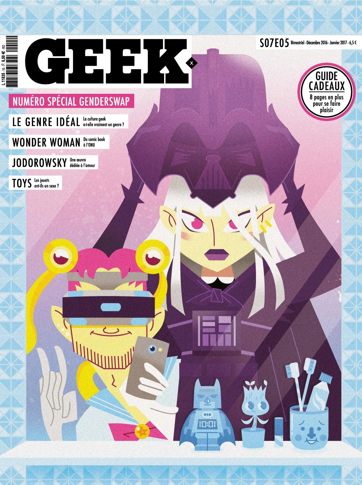 Geek 15 - Novembre 2016/Décembre 2017