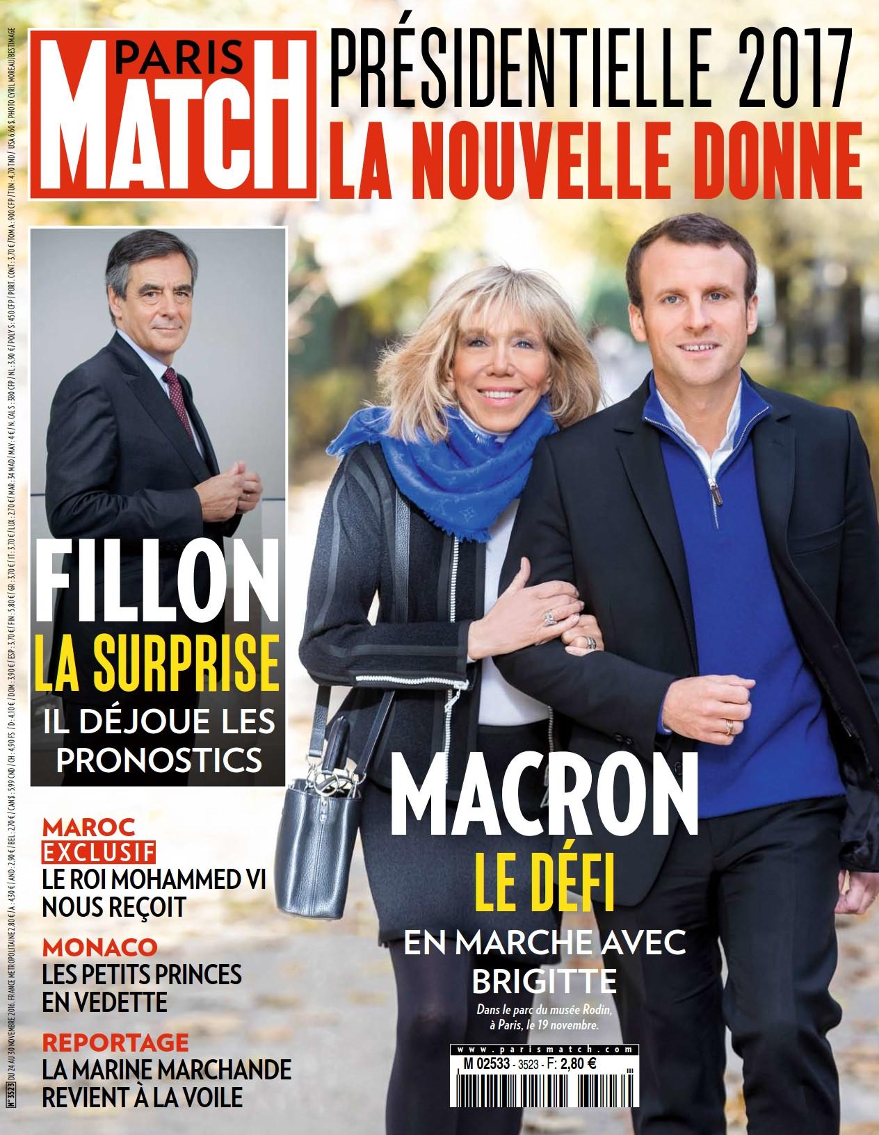 Paris Match 3523 - 24 au 30 Novembre 2016